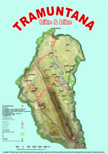 Karta Tramuntana Hike&Bike
