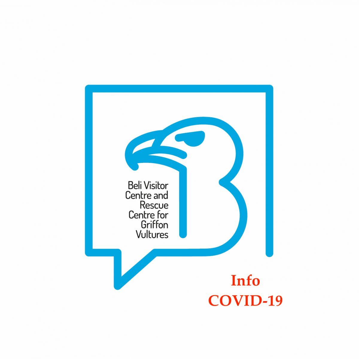 OBAVIJEST VEZANA UZ POSJEĆIVANJE CENTRA ZA POSJETITELJE BELI - COVID-19